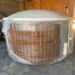 Timberin Badefass / Badetonne / Hottub aus Thermoholz