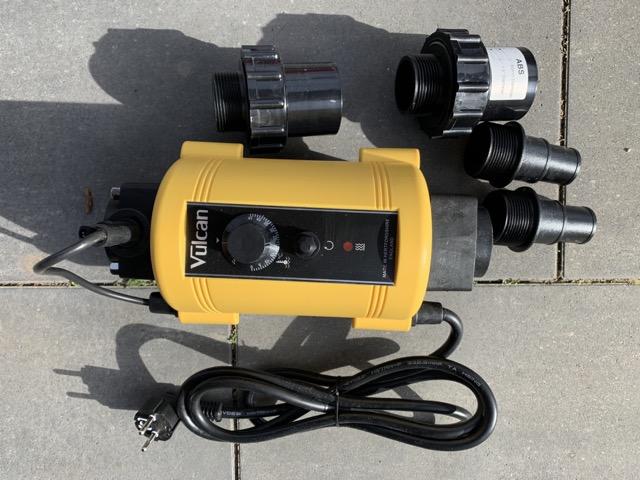 Elektrische Heizung fürs Badefass - Zusatzheizung mit Strom für die Badetonne