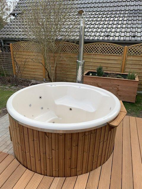 Erfahrungsbericht Badefass Aus Holz Mit Ofen Fotos Infos