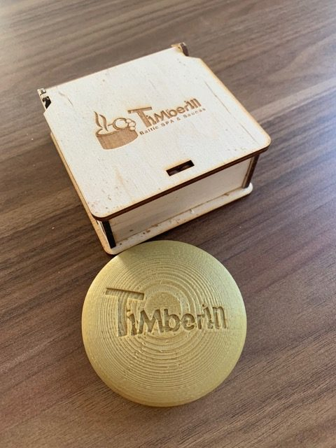Bluetooth Thermometer von Timberin: TimberTemp