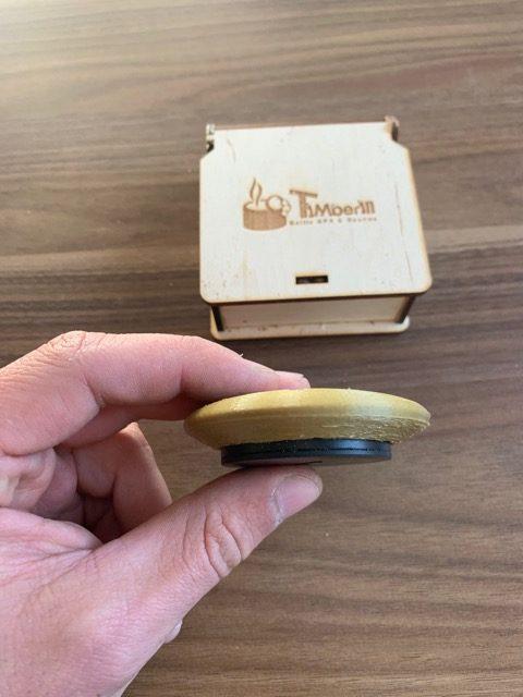 Geringe Größe TimberTemp App - Bluetooth Thermometer von Timberin