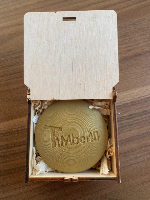 Verpackung und Schachtel: Bluetooth Thermometer von Timberin: TimberTemp