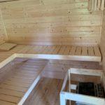 Aufbausauna-Gartenhaus-Innenraum